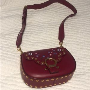 Marc Jacobs wine colored hobo bag NWOT